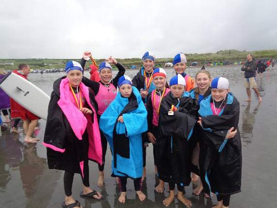 Rhoose Nippers head west for a successful competition