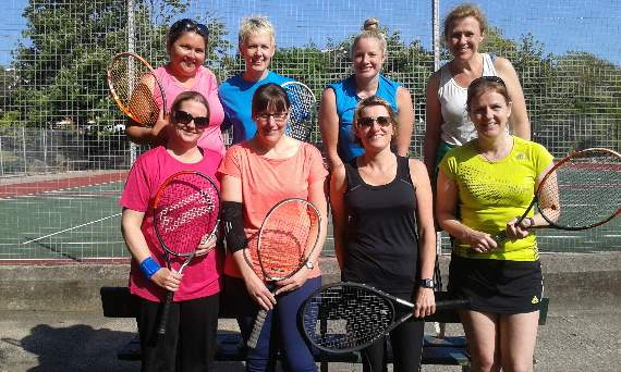 A smashing time at Barry Community Tennis Club