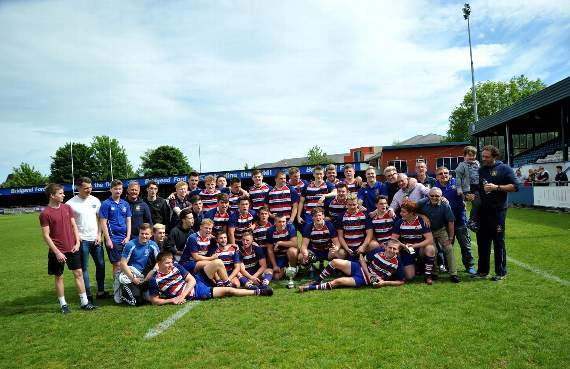 Bridgend Athletic youth win national league play-off final!