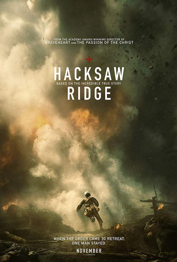 Hacksaw Ridge a remarkable tale delivered in hackneyed way... Screen Talk with Gareth Jamieson